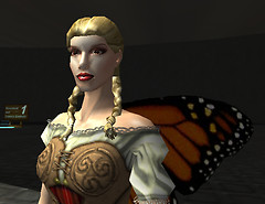Puck the butterfly girl