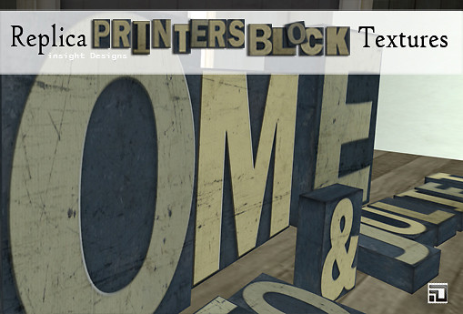 replica printers block textures by insight designs