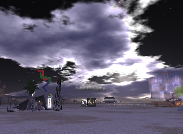 Alone on the Playa