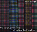 winter highland fling tartan blanket textures by insight designs