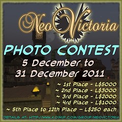 Photo Contest Advertisement for the NeoVictoria Project