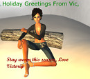 Holiday Greetings from Lady V December '11