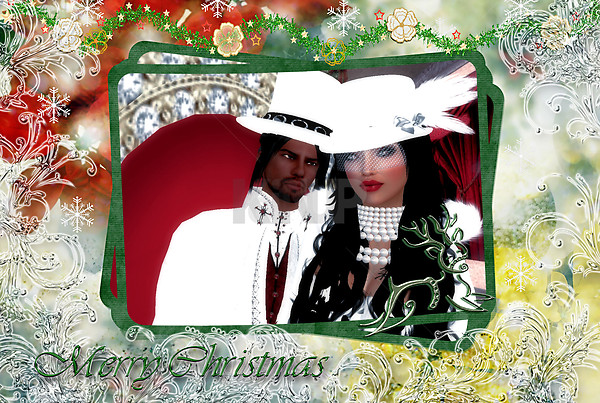 Lady &amp; Wolf Merry Christmas #1