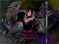 LadyGothic Valentine frame (20)