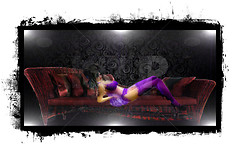 Lady Boudair Chaise Pose