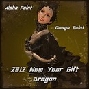 New Year Gift Dragon from Alpha Point & Omega Point