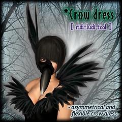 [ ridi-ludi-fool ] *Crow dress POP3