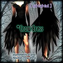 [ ridi-ludi-fool ] *Crow dress POP2