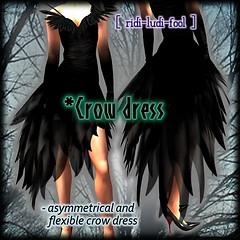 [ ridi-ludi-fool ] *Crow dress POP2
