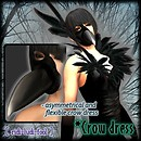 [ ridi-ludi-fool ] *Crow dress POP1