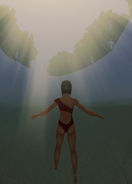 Underwater Sun Rays