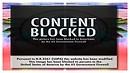 Content blocked...