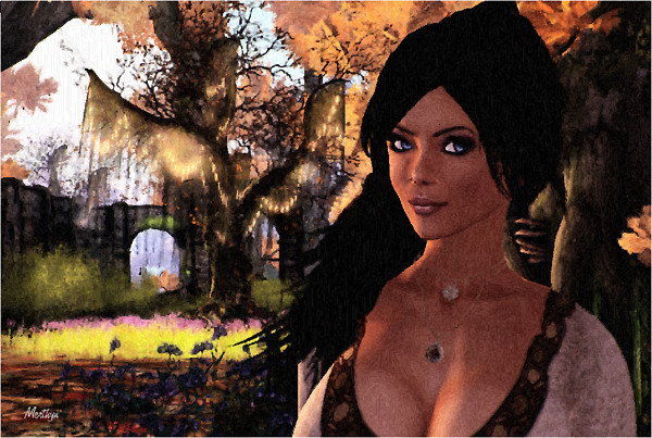 Rhea in Charmed Paradise III