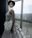 SHIKI Winter Snow gown