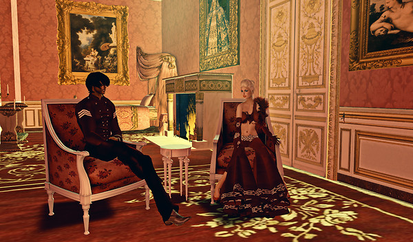 Babe & Syril in Chateau de Versailles