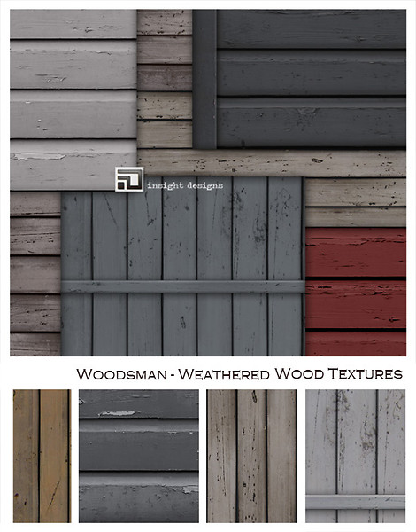 woodsman weathered painted wood by insight designs
