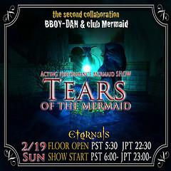 TEARS of the mermaid
