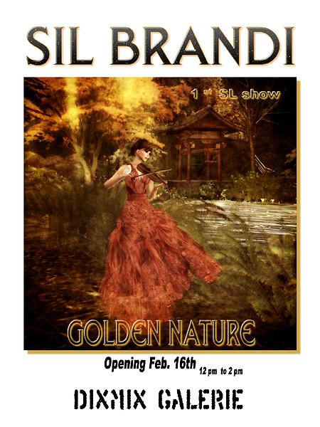 SilBrandi-Golden-Nature-@-Dixmix-Galerie