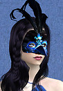 Maschera Raven Laterale