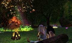 fireside chattin
