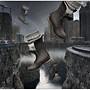OMG! It's raining boots!