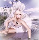 Solidea Folies White Orchid & -Glam Affair- Leah B
