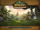 WoW Mists of Pandaria entry screen