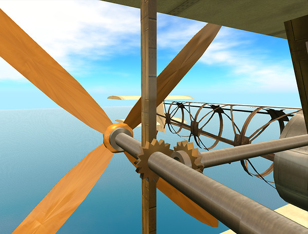 Steampunk Airplane Mk2 4