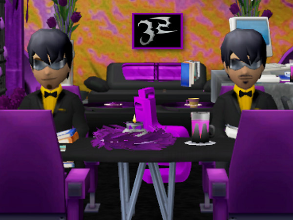 The Club Cooee men in black