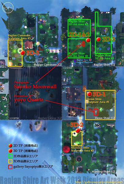 Raglan Shire Art Walk 2012 / Map1