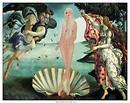 The Birth of Venus…Botticelli