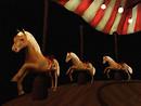 Carousel Horses Final blog Emerald