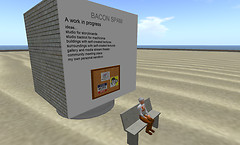 Stu Dent's OSGrid region: Bacon Spam