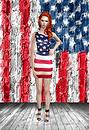 American Flag Dress 1
