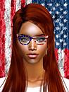 American Flag Glasses