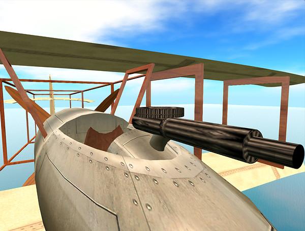 Steampunk Fighter Prototype 4