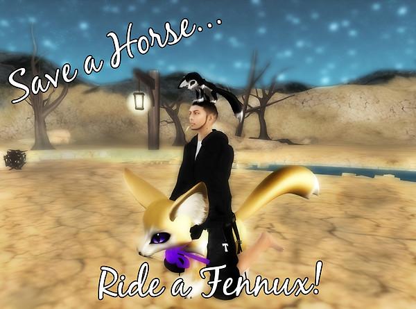 Ride a Fennux
