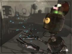 The robots dream of butterflies...