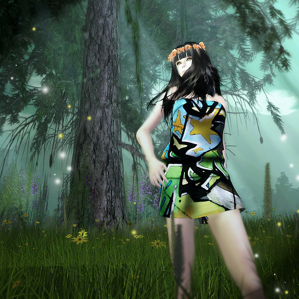 Koro in the forest