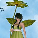 WD Daisy Fae Greeny Yellow