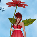 WD Daisy Fae Pinky Red