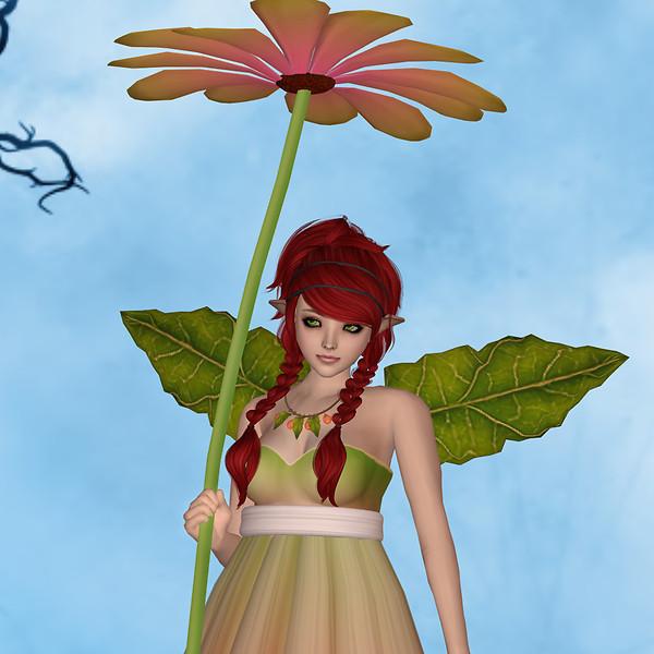 WD Daisy Fae Pinky Green