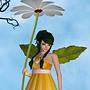 WD Daisy Fae Golden White