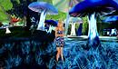 Blue mushrooms at Ozimals 2012-06-09