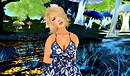 Babe's portrait - blue mushroom 2012-06-09 R