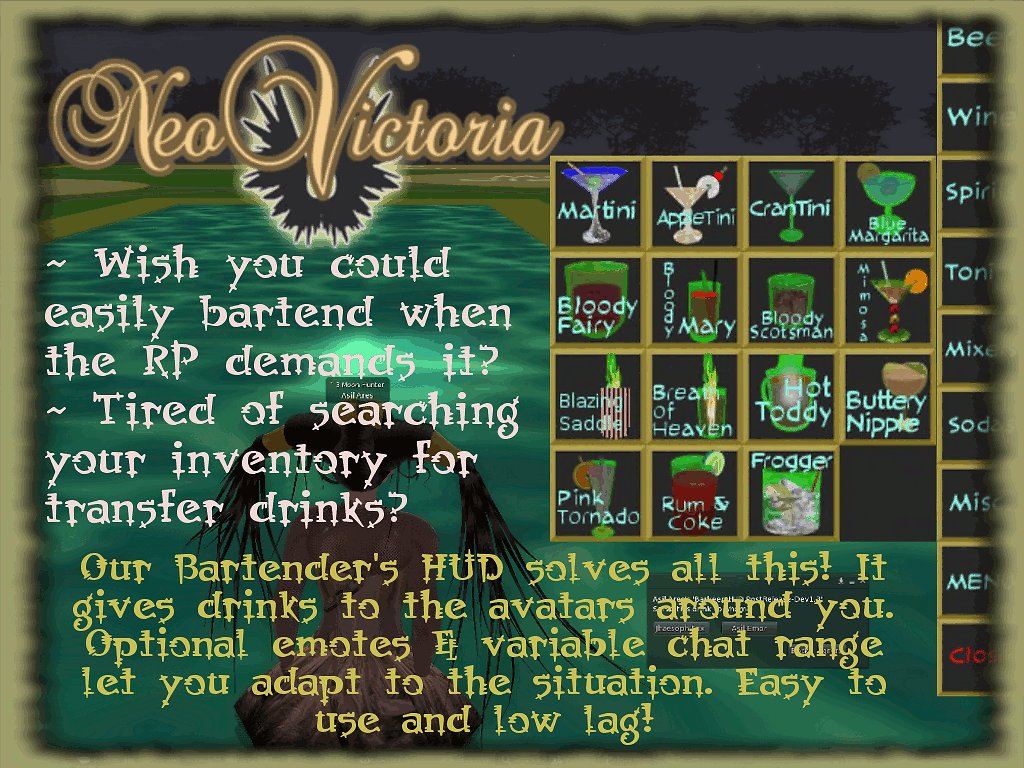 NeoVictoria&#39;s Hunt Gift for the Roleplayer&#39;s Hunt
