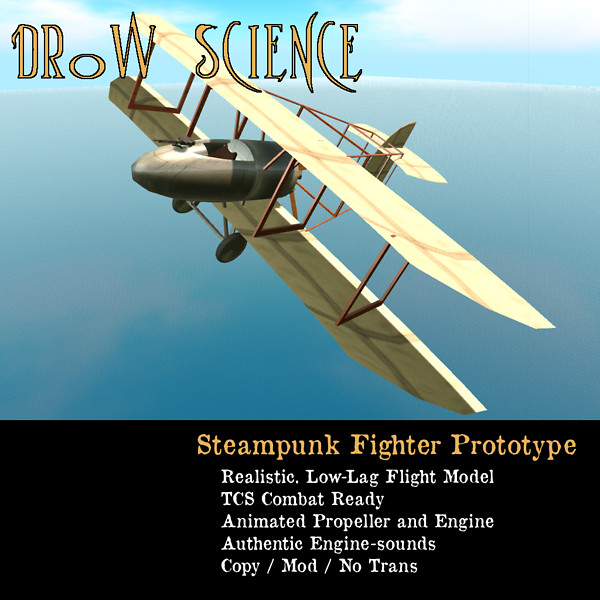Steampunk Fighter Prototype 2