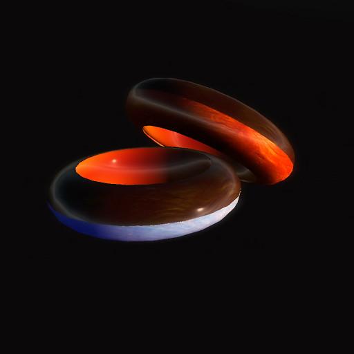 QT metallic swirl Bangle set