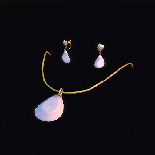 QT Diamond Pearl Gold Set
