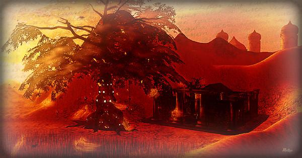 Dark temple